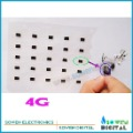 waterproof sticker water sensitive adhesive strip for iphone 4 4g headphone jack audio connector hole, FREE shipping