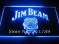 W4801 Jim Beam Bar Pub Club Neon Light Sign.
