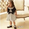 Free shipping Grils suit girl Dress coat+dress blouse+dress Size:80 90 100 110 120