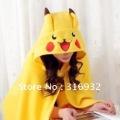 K1 Fashional and cute Pikachuu Plush Soft Cloak Blanket, 1pc