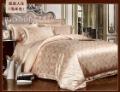 120438 100% Tencel Luxury 4pcs bedding set / comforter bedding set free shipping 2colors