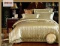 $10 off per $100 order 120442 100% Tencel 4pcs bedding set / Luxury European textile /bedding set free shipping