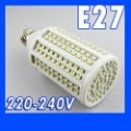 Free Shipping 15W 216 LEDs Lighting E27 warm White LED Bulb Lamp Led Corn Light E27