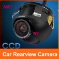 360 Degree Angle Rotation Mini CCD 420TVL Car Rearview Camera Back Up Front Reverse Cam 170 Degree View Angle Free Shipping