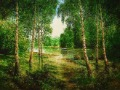 Free shipping different sizes gobelin tapestry,beautiful landscape picture, art pictures