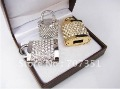 Free shipping! 10pcs/lot ,4gb 8gb 16gb Crystal bling Lock Shape USB Drive Flash Pen Drive