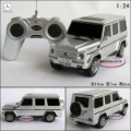 New silver Benz g55 amg Rc toy car suv remote control car models educational toys free air mail