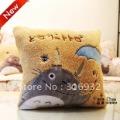J2 New! My Neighbor Totoro Lovely square plush pillow, soft feeling, 1pc