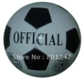 Classical white an black football, promotional football 320g