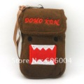 Free Shipping New Cute Cartoon Domo Kun Pluse Bag Case for Cell Phone MP3 Wholesale and Retail