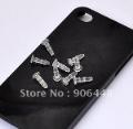 Wholesale Clear Plastic Earphone Jack Plug Dust Plug For iPhone4s_150pcs/lot