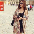 2012 vintage national trend large facecloth cape bohemia Women scarf autumn and winter female ultra long silk scarf