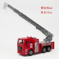 Toy fire truck ladder rescue vehicle water vehicle alloy WARRIOR superacids