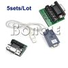 Holiday Sale! Holiday Sale 5sets/Lot USB 2.0 To RS-422 RS-485 Converter Serial Cable Adapter 1628