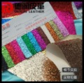 2073 Hot selling newest color glitter leather for christmas decoration s3002-37
