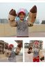 """Free shipping Anime One Piece Chopper 14.5"""" Cosplay Plush Costume Mitts Hands Gloves Paws Stuffed Toy ( 1 pair )"""