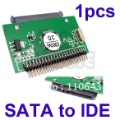Holiday Sale Cheapest New 7+15 Serial ATA SATA to IDE 2.5 Male Horizontal Adapter 1182