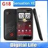 "G18 Sensation XE Original Android HTC Sensation XE Z715E G18 8MP WIFI GPS 4.3""TouchScreen Unlocked Cell Phone"