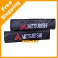 Carbon Fiber Seat Belt Cover Shoulder Pad for Mitsubishi(#3125)