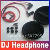 "Image of """"""L"""" plug/Handsfree 3.5MM Stereo In-ear Earphone For MP3/MP4/ DJ Headphone With 6 Earbuds + Carry Case,Free shipping"""