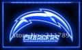 A056 B SAN DIEGO CHARGERS NFL Football Bar Pub LED Light Sign