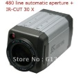Security CCTV CCD 480TV Line 30X Optical Zoom 3.0-90mm Lens OSD Menu Box Camera Motion Detection IR-cut function