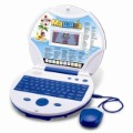 Russian language Colorful LCD display Child kid's learning notebook laptop computer study machine toys