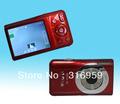 Free Shipping New Portable 2.7 inch TFT 5X digital zoom anti-shake 15MP Digital Camera DC-100