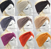 5 pcs/Lot wholesale free shipping Winter women Knit Hairband Crochet warmer Head wrap Headband Ear Warmer Gift