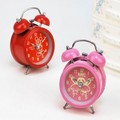 Double bell cartoon lazy alarm clock - - child double luminous function i422