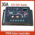 New 30A Solar Charge Controller Regulators 12V/24V Autoswitch Cheap Solar Panel Charge Controller