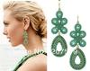 New Retail Fashion Elegant Women Bohemia Earrings Jewelry Wholesale Fashion Jewelry