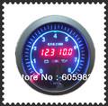 Free shipping 3.75 inch double digital display plasma car meter 3-in-1 (tachometer/volt/oil press) gauge LED998184