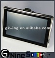 Cheap 5 inch Car gps navigation with FM AVIN 4GB card newest map