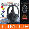 Multifunction 5 in 1 HiFi Wireless Headphone Earphone Hi-Fi Headset Wireless Monitor FM Radio MP3 PC TV Audio Phones