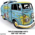 Water golden dragon model hippie skateboard vw bus handmade cars
