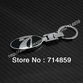 LADA Double logo Alloy Keychain Key Chain Key Ring Keyrings