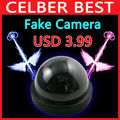 Emulational Fake Decoy Dummy Security CCTV DVR for Home Camera with Red Blinking LED Free Shipping