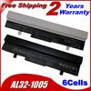 Laptop Battery For Asus Eee PC 1001HA 1005 1005H 1005HA AL31-1005 AL32-1005 ML32-1005 PL32-1005