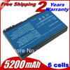 laptop battery for Acer Aspire 3100 5100 9110 series BATBL50L6 BATCL50L6 Free shipping