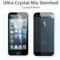 For iPhone 5 5G Anti Glare Matte Full Body Front+Back Screen Protector Guard free shipping 100pcs free shipping