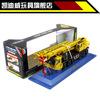 High quality 1:55 mini diecast alloy lifting crane 8 wheel engineering car model vehicle truck toy+retail box