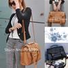 Fashion Britpop Women's PU Leather Purse Handbag Messenger Satchel Shoulder Bag Retro briefcase for Ladies B064