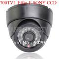 700TVL Effio-E SONY CCD 24 LEDs IR Security Surveillance Dome CCTV Camera