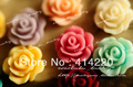 Free shipping New Arrival 10 mm 15 Colors Resin Flower Cabochon Jewelry DIY Accessory by 100PCS/LOT
