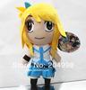 "Free shipping Anime Fairy Tail 12"" Big Head Happy Figure Plush Stuffed Toy"