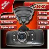 High Quality New Arrival Ambarella CPU GS9000 GPS Video Full HD 1920*1080 Car Dvr Camera,Black Box,Recorder  Freeshipping