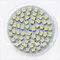Hotsale 2pcs/lot New Arrival MR16 LED 3528 60 SMD Pure/ Warm White LED High Power Spot Light 630041