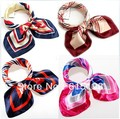 multicolour occupation scarves airline stewardess silk scarves 56 colors face cloth kerchief polyester silk scarf 029