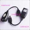 Free shipping USB CAT5 RJ45 Lan Extension  CAT5/CAT5E/6 RJ45 Adapter Cable 150ft